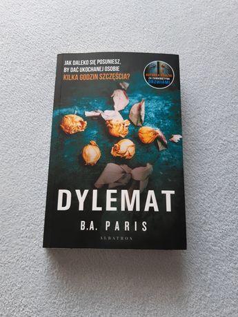 "Książka ""Dylemat"" B.A. Paris"