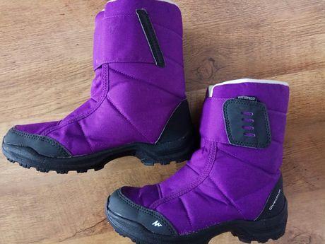 Quechua 36 śniegowce buty zimowe
