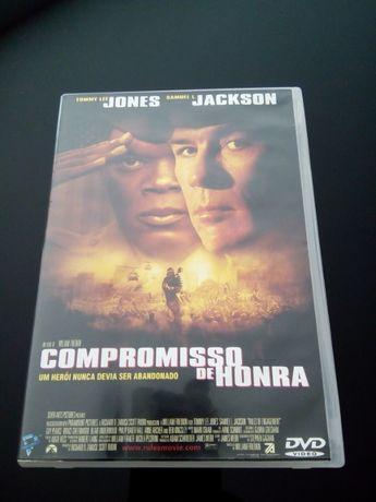 """DVD - """"Compromisso de Honra"""" com Samuel L. Jackson"""