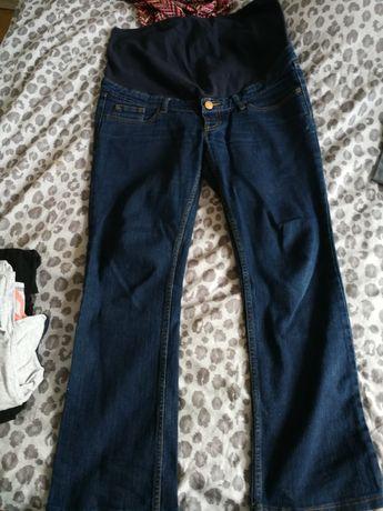 Jeansy ciążowe 2 pary rozmiar M
