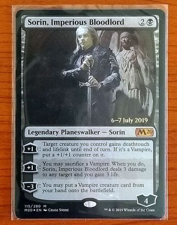 Sorin Imperious Bloodlord MTG Promo