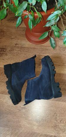 Ботинки замшевые демисезонные Olteya