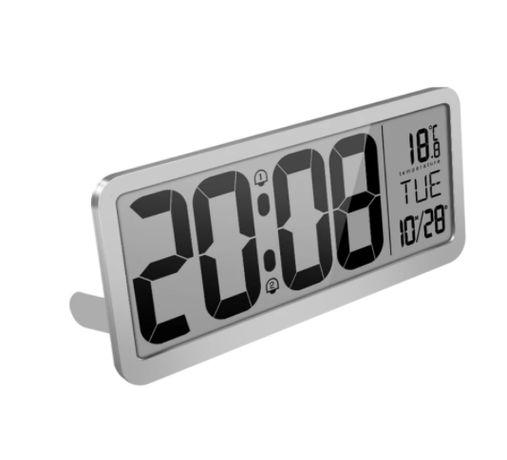 Большие цифровые настенные часы 35.6x16 см
