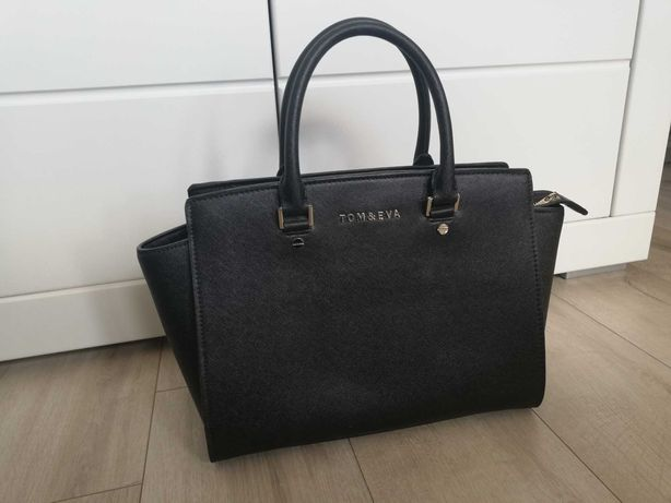 Czarna, elegancka torebka