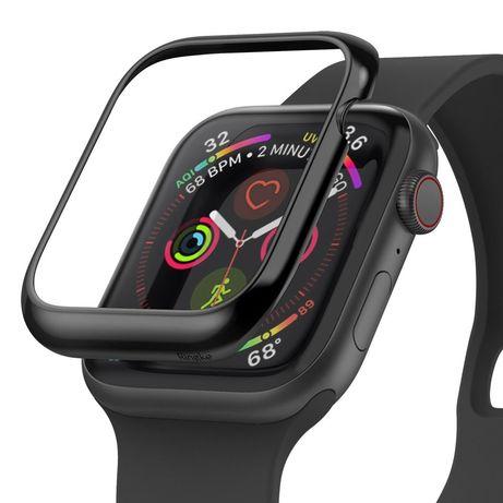 Capa Smartwatch Ringke Apple Watch 6 44Mm / Watch 5 44Mm / Watch 4 44Mm / Watch Se 44Mm - Preto
