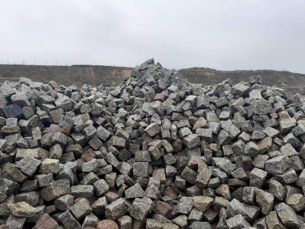 Kostka granitowa. Promocja. 400 ton. Granit.
