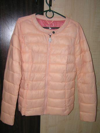 Распродажа Куртка деми пуховичек стеганная женская Rinascimento Итали