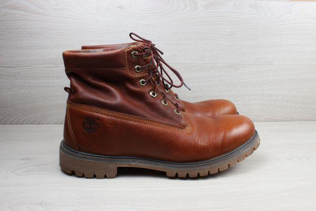 Мужские кожаные ботинки Timberland оригинал, размер 47 (Woolrich)