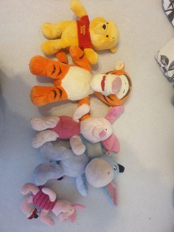 Kubuś Puchatek i przyjaciele maskotki Disney