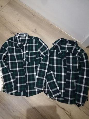 Koszule dla bliźniaków rozm 140