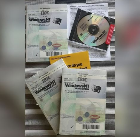 Microsoft Windows NT Workstarion 4.0.