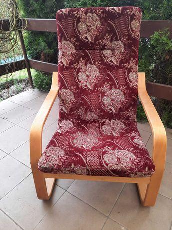 Używany fotel bujany