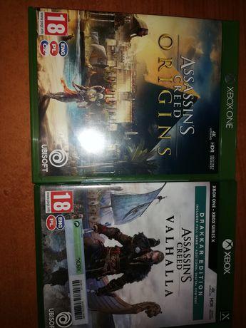 Gry na xbox one i series x z serii Assassin's Creed.