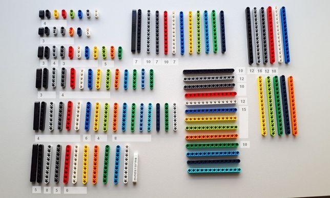 Детали Lego Technic – Liftarm, балки (оригинал лего техник)