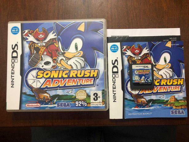 Sonic Rush Adventure | Nintendo DS / 3DS | Completo