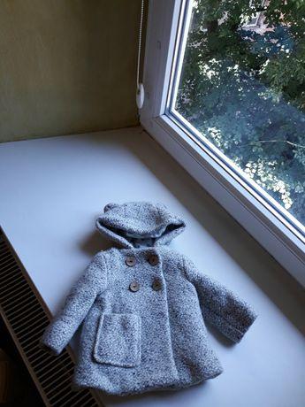 пальто zara 6-9 12