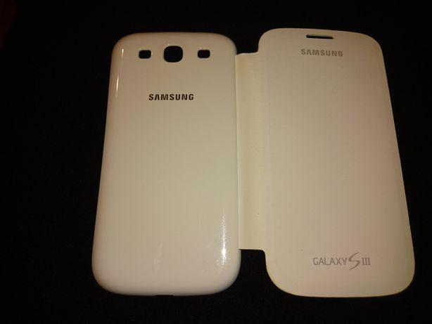 Samsung S3 etui białe