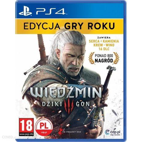 Wiedźmin 3 GOTY PS4