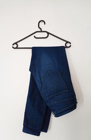 Spodnie jeansy dżinsy wysoki stan high waist 28/30 38 M nowe z metką