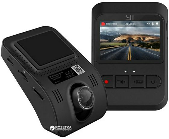 Видеорегистратор Xiaomi Yi Dash Mini Camera Black (YCS1B18)