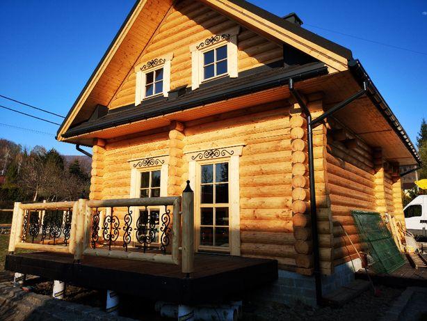 Domy z bali, altany, toczenie bali, wyroby tartaczne, więźby, deski