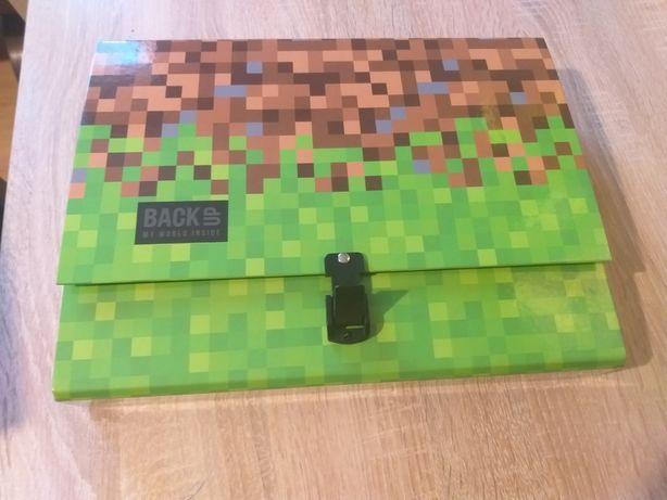Teczka do szkoły dla ucznia A4 5cm minecraft