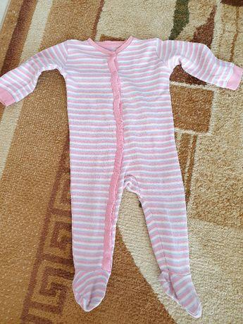 Pajacyk/piżamka Lupilu dla dziewczynki r. 74
