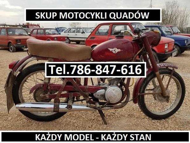 SKUP STARYCH MOTOCYKLI MZ Wsk Shl Simson Jawa Motorynka komar Romet