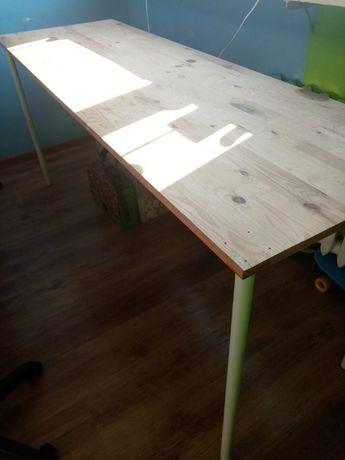 Sprzedam biurko, stół długi drewno sosnowe OKAZJA!!!
