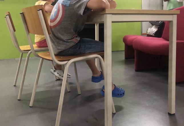 Mobiliário escolar/ secretaria dupla crianca