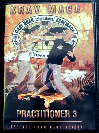 DVD de Krav Maga P3 (método de defesa pessoal israelita) - Gabi Noah