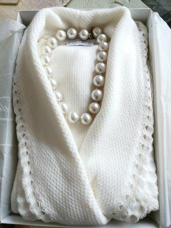 Sweterek JOELLE, narzutka, żakiet, ślub, komunia, nowy