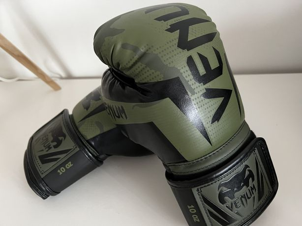 Luvas Venum Elite khaki/black