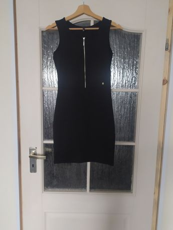 Sukienka letnia Cropp czarna Xs S