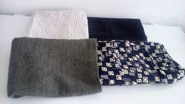 Retalho - peças de tecido diferente para confeção de...