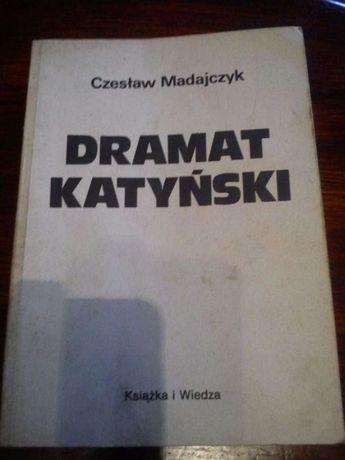 Czesław Madajczyk Dramat Katyński