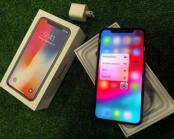 Магазин iPhone X 64 space gray silver как новый идеал гарантия 3 месяц