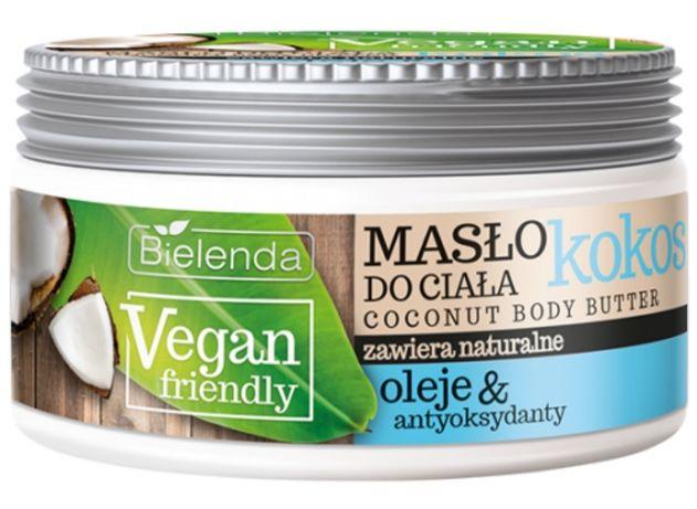 Bielenda Vegan Friendly aksamitne kremowe masło do ciała 250ml NOWE