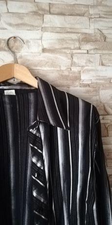 Koszula czarna w paski