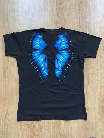 Koszulka ze skrzydłami motyla na plecach