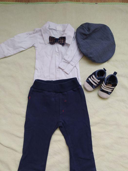 Komplet ubranko na chrzest dla chłopca r. 68 p5 Płońsk - image 1