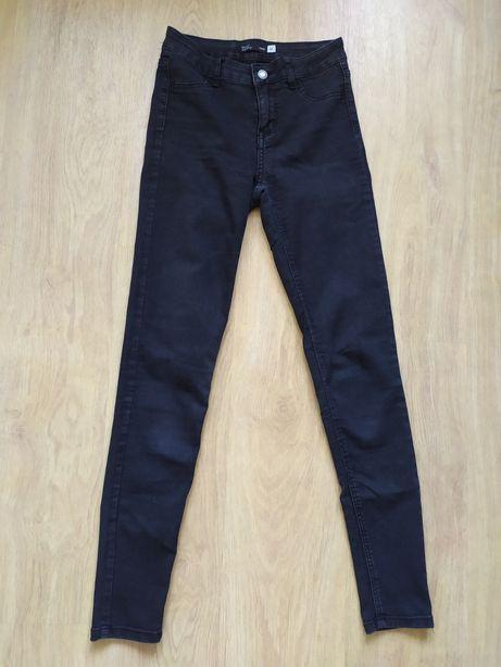 Sinsay Mid Waist spodnie w rozmiarze 34 ,jak nowe - cena 25 zł