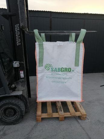 Big bag beg 95/95/95 cm na zboża i kukurydzę / Wysyłka w 24 h