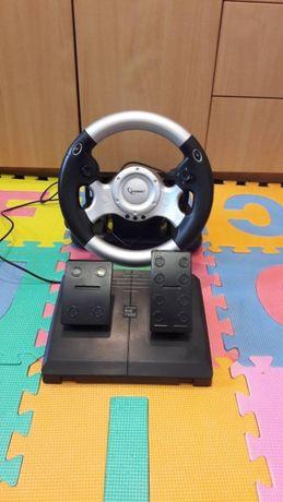 Игровой руль с обратной связью GEMBIRD STR-FFB3