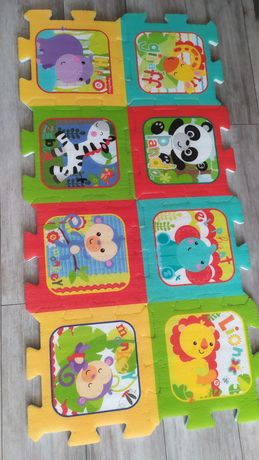 Puzzle piankowe Fisher Price