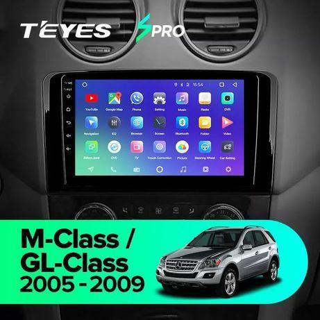 Штатная магнитола Mercedes Benz ML GL ML350 GL320 X164 2005 - 2009