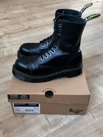 Dr martens 8761 steel toe leather boot(40р)