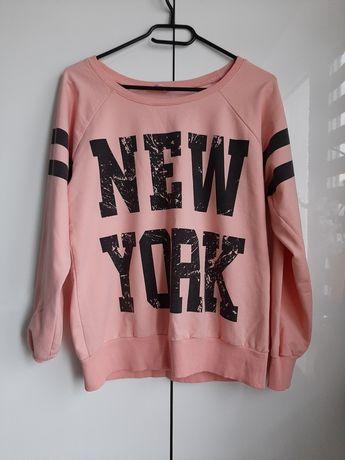 Bluza Damska s/m NewYork pastelowy kolor