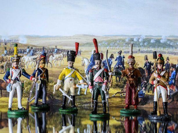 Коллекция солдатиков Союзники Наполеона из серии Наполеоновские войны