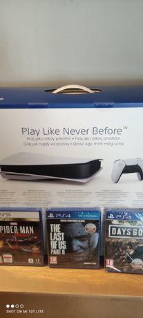 Sony PlayStation 5. Ps5 z napędem nowa